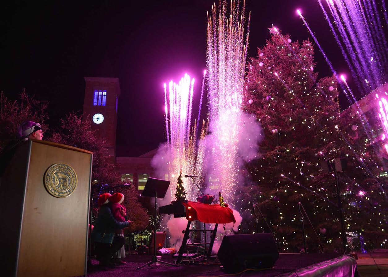 Texas Christian University's Annual Christmas Tree Lighting